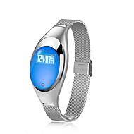 tanie Inteligentne zegarki-Inteligentne Bransoletka na iOS / Android Pulsometr / Pomiar ciśnienia krwi / Spalone kalorie / Ekran dotykowy / Wodoszczelny Powiadamianie o połączeniu telefonicznym / siedzący Przypomnienie / 64 MB