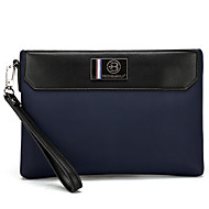 cheap Bags-Men's Bags Oxford Cloth Clutch Zipper for Casual Outdoor All Seasons Blue Black