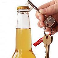 1Pcs  Portable Bottle Opener Beer Bottle Can Opener Hangings Ring Keychain Tool