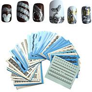 1 set 50pcs Nail Art tarra Veden siirto Decals meikki Kosmeettiset Nail Art Design