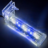 cheap Aquarium & Fish Accessories-Aquarium Aquarium Decoration White / Blue Non-toxic & Tasteless LED Lamp 220 V V Metal