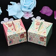 ieftine Big Heard Love®-Creative În Formă de Cub Hârtie cărți de masă Favor Holder cu Model Cutii de Savoare