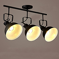 billige Spotlys-3-Light Spotlys Omgivelseslys Malte Finishes Metall Mini Stil 110-120V / 220-240V Pære ikke Inkludert / E26 / E27