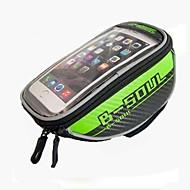 Vesker til sykkelramme Mobilveske 5.7 tommers Anvendelig Telefon/Iphone Berøringsskjerm Sykling til Samsung Galaxy S6 Samsung Galaxy S4