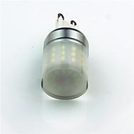 billige Bi-pin lamper med LED-1pc 3.5W 400 lm G9 LED-lamper med G-sokkel T 48 leds SMD 3014 Dekorativ Kjølig hvit AC220 AC 220-240V