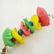 鳥 鳥用おもちゃ プラスチック マルチカラー