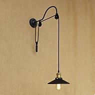 billige Vegglamper-Rustikk / Hytte / Land Vegglamper Metall Vegglampe 110-120V / 220-240V 40W