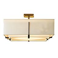 billige Takbelysning og vifter-5-Light Takplafond Omgivelseslys Malte Finishes Metall Stof Mini Stil 110-120V / 220-240V Pære ikke Inkludert / E26 / E27