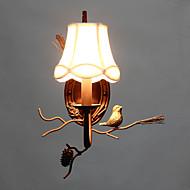 billige Vegglamper-Moderne / Nutidig Vegglamper Metall Vegglampe 220V / 110V 40W