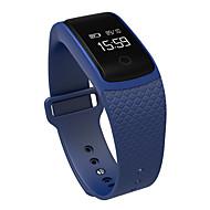 tanie Inteligentne zegarki-Inteligentne Bransoletka Ekran dotykowy Pulsometr Wodoszczelny Spalone kalorie Krokomierze Obsługa wiadomości Pomiar ciśnienia krwi