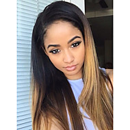 10-26 Inch 100% Human Virgin Hair Lace Wig Lace Front T1B/30 Ombre Color Body Wave Lace  Wig-glueless with Baby Hair