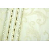 Árvores/Folhas Art Deco Papel de Parede Para Casa Luxuoso Revestimento de paredes , Não-tecido de papel Material adesivo necessáriopapel