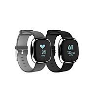 billige Smartklokker-Smartklokke P2 for iOS / Android Pekeskjerm / Pulsmåler / Vannavvisende Aktivitetsmonitor / Søvnmonitor / Finn min enhet / Lang Standby