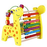 צעצוע חינוכי צעצוע ספירה צעצועים צבי ג'ירפה שזירה חתיכות לילדים בגדי ריקוד ילדים בנים בנות מתנות