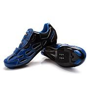 Tiebao® Παπούτσια Ποδηλασίας Vibram Ποδηλασία / Ποδήλατο Αναπνέει Φοριέται Δερματίνη Κίτρινο Πράσινο Μπλε