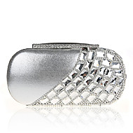 cheap Bags-Women's Bags Polyester Evening Bag Imitation Pearl Crystal/ Rhinestone for Wedding Event/Party Casual Formal Office & Career Winter