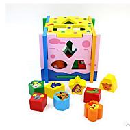 Bausteine Bildungsspielsachen Spielzeuge Spielzeuge Karton Stücke Kinder Geschenk