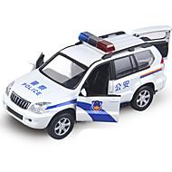 Taaksepäin vedettävät ajoneuvot Leluautot Poliisiauto Lelut Ankka Auto Metalliseos Metalli Pieces Unisex Pojat Lahja