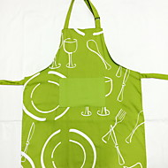 איכות גבוהה אופנה מטבח כותנה טקסטיל סינר הגנה