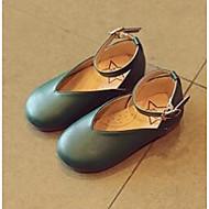 tanie Obuwie dziewczęce-Dla dziewczynek Buty Derma Comfort Mokasyny i pantofle na Casual Gray Czerwony Green