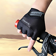 cheap Cycling Gloves-SANTIC Sports Gloves Bike Gloves / Cycling Gloves Breathable Wearproof Anti-skidding Protective Wicking Shockproof Fingerless Gloves