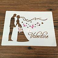 bageform Blomst Kage Tærte GDS Nonstick Miljøvenlig Valentinsdag