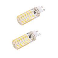 billige Kornpærer med LED-BRELONG® 5W 450-500 lm G9 E26/E27 LED-kornpærer T 80 leds SMD 5730 Mulighet for demping Dekorativ Varm hvit Kjølig hvit AC 220-240V AC