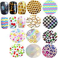 1pcs Nagelkunst sticker 3D Nagelstickers make-up Cosmetische Nagelkunst ontwerp