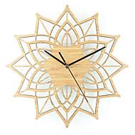 お買い得  壁時計-カジュアル コンテンポラリー ウッド メタル ノベルティ柄 屋内/屋外 屋内