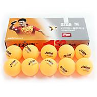 baratos Tenis de Mesa-10pçs 3 Estrelas Ping Pang / Bola de Ténis de Mesa Plástico Pouco Atrito ao Vento / Força Alta / Elasticidade Alta