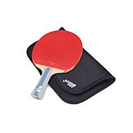 baratos Tenis de Mesa-Ping Pang / Tabela raquetes de tênis Madeira 6 Estrelas Cabo Comprido / Espinhas Cabo Comprido / Espinhas
