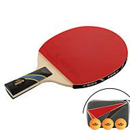 Ping Pang/Tischtennis-Schläger Ping Pang/Tischtennisball Ping Pang Gummi Langer Griff Pickel 1 Schläger 3 Tischtennisbälle 1