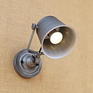 billige Vegglamper med LED-Rustikk / Hytte / Land / Retro Rød LED Vegglampe Metall Vegglampe 110-120V / 220-240V 5W