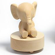Μουσικό Κουτί Ελέφαντας Νεωτερισμός Ξύλο