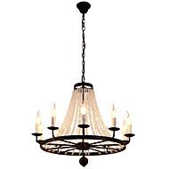 Anheng Lys ,  Moderne / Nutidig Traditionel / Klassisk Rustikk/ Hytte Tiffany Vintage Kontor / Bedrift Lanterne Tromme Rustikk Øy Globus