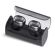 baratos Fones de Ouvido-QCY Q29 Sem Fio Fones Plástico Condução Fone de ouvido Com caixa de cobrança / Com Microfone Fone de ouvido