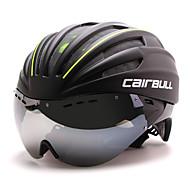 CAIRBULL Capacete de bicicleta 28 Aberturas CE CE EN 1077 Ciclismo Ajustável Cara-Total Montanha Viseira Ultra Leve (UL) Esportivo PC EPS