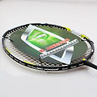 Badmintonschläger Hochfest Langlebig Stabilität Carbon Faser Ein Paar × 2 für