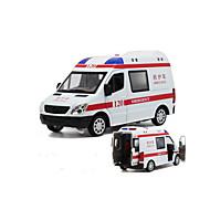 Litá vozidla Auta na zadní natahování Autíčka Policejní auto Sanitka Hračky Auto Kov 1 Pieces Dětské Dárek