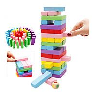 Bausteine Bildungsspielsachen Stapelspiele Spielzeuge Stücke Kinder Geschenk