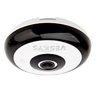 billige Utendørs IP Nettverkskameraer-veskys® 360 graders HD full visning ip nettverkssikkerhet wifi kamera 1.3mp fisheye