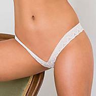 Dame Plusstørrelser Ultrasexet trusse G-streng og tanga - Net, Ensfarvet Lav Talje