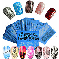 48pcs/set Nail Art tarra Veden siirto Decals Lace Tarra meikki Kosmeettiset Nail Art Design