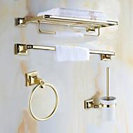 Kylpyhuonetarvikesetti / Kulta Antiikki