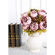 1 větev hedvábí pivoňky stropní květina umělé květiny domácí dekorace
