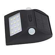 1pcs luz solar sensor de movimento ao ar livre ip65 impermeável led sensoring faixa luz de segurança da noite com auto modo branco e