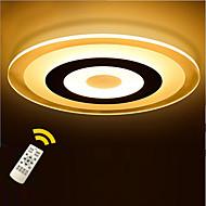 billige Taklamper-KAKAXI Takplafond Omgivelseslys - Mulighet for demping, LED, Dimbar med fjernkontroll, 220-240V LED lyskilde inkludert / 10-15㎡