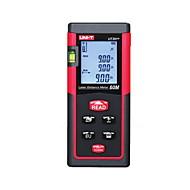 Uni-t ut391 ruční digitální měřič vzdálenosti 60 metrů laseru s vzdáleností&Měření úhlu