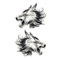 billiga Tatuering och body art-1 pcs Tatueringsklistermärken tillfälliga tatueringar Djurserier Vattentät / Ogiftig Body art arm
