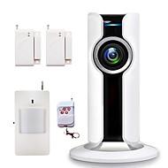 billiga Sensorer och larm-433MHz Mobil app Fjärrkontroll 433MHz WIFI Sound Alarm Lokalt Alarm E-mailalarm Home Alarm Systems